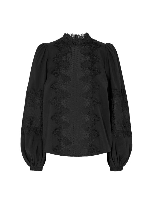 COPENHAGENMUSE - CMMADELYN PEACHED BLOUSE