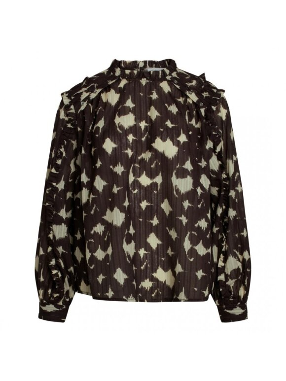 Co`Couture - ALYSSA FRILL BLOUSE