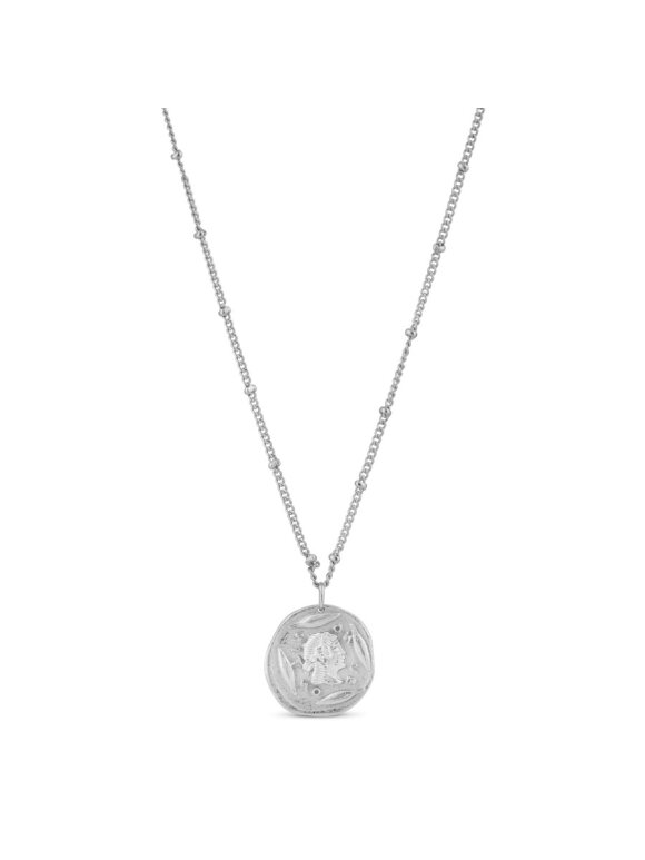 PURE BY NAT - NECKLACE W. AMULET