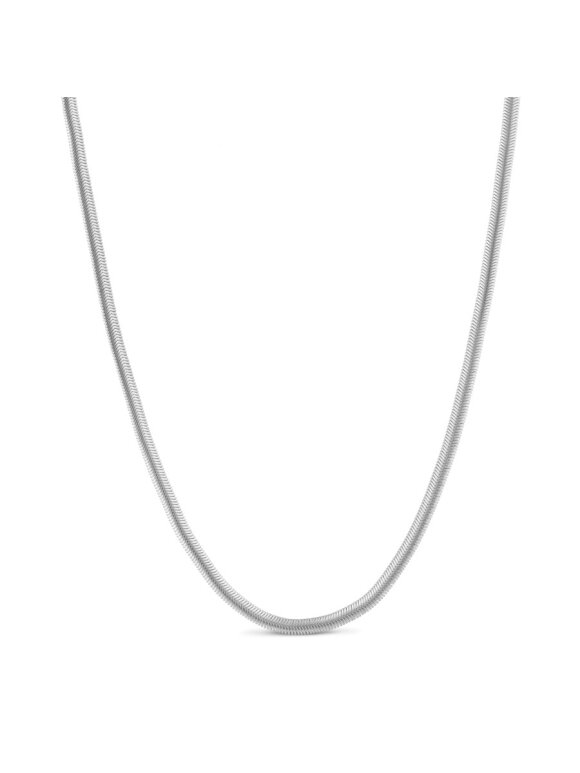 PURE BY NAT - SNAKE CHAIN NECKLACE