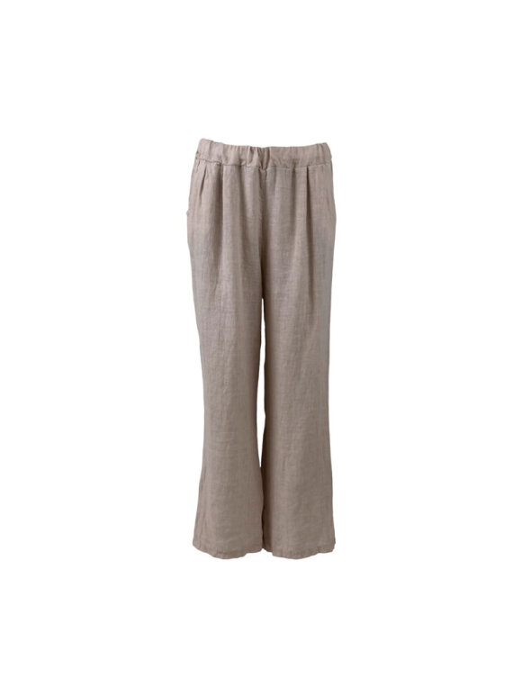 Black Colour - LIMA LINEN PANTS