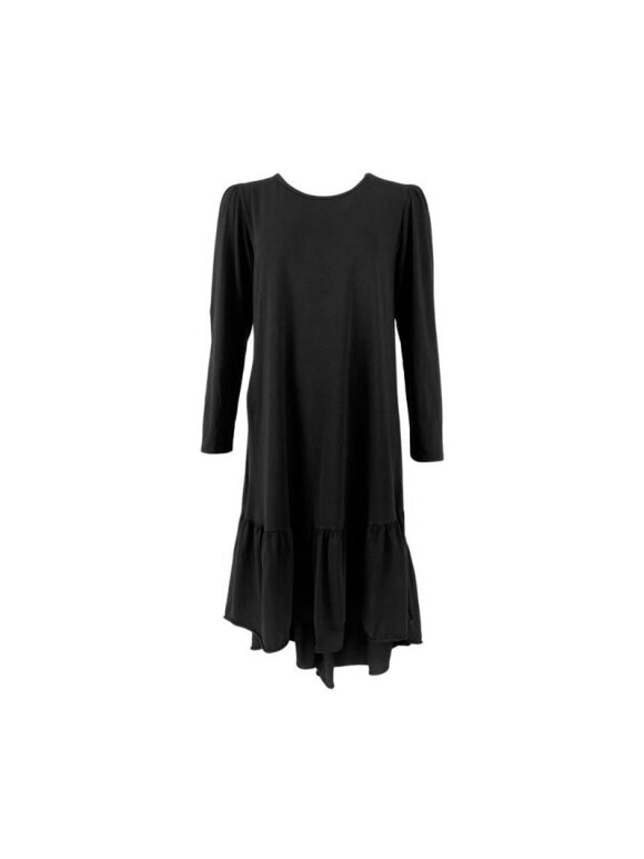 Black Colour - SANNA JERSEY DRESS