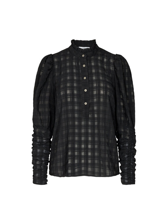 Co`Couture - ROWLAND PUFF SLEEVE SHIRT