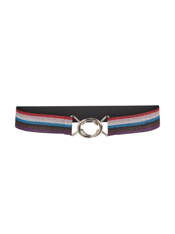 Co`Couture - RAINBOW LUREX BELT
