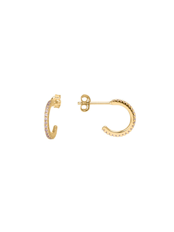 SUI AVA - ELINE MINI HOOPS GOLD