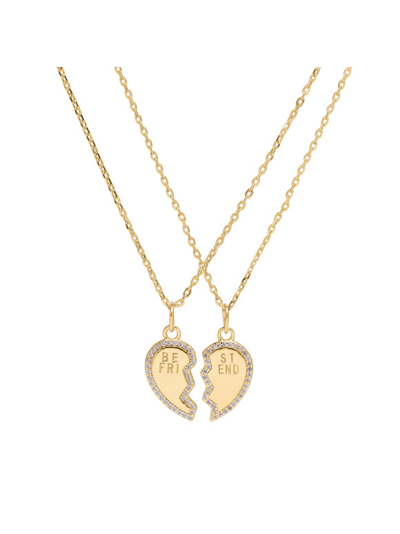 SUI AVA - BFF HEART NECKLACE