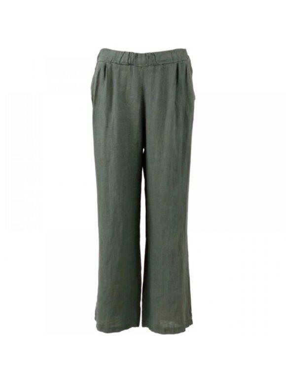 Black Colour - LIMA LINEN PANTS