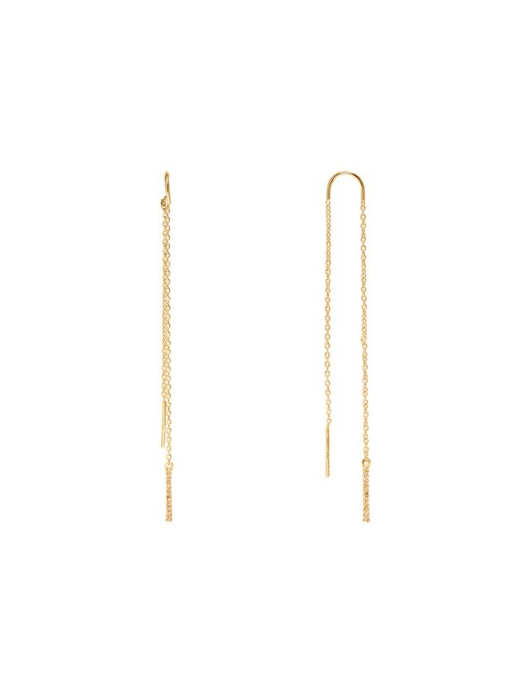 SUI AVA - CELINE LONG EARRING GOLD