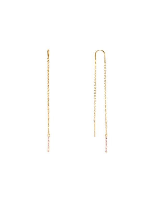 SUI AVA - CELINE LONG EARRING GOLD