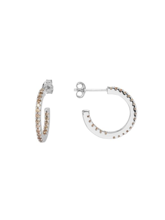 SUI AVA - ELINE SMALL HOOPS SILVER