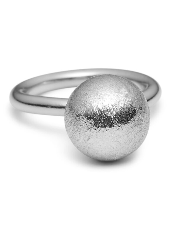 PURE BY NAT - RING M 12 MM KUGLE