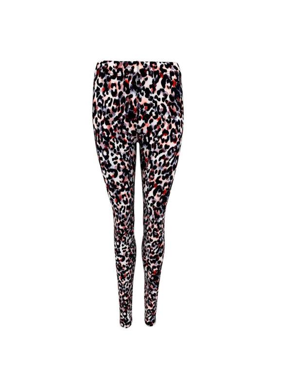 Black Colour - LISA SOFT LEO LEGGINGS