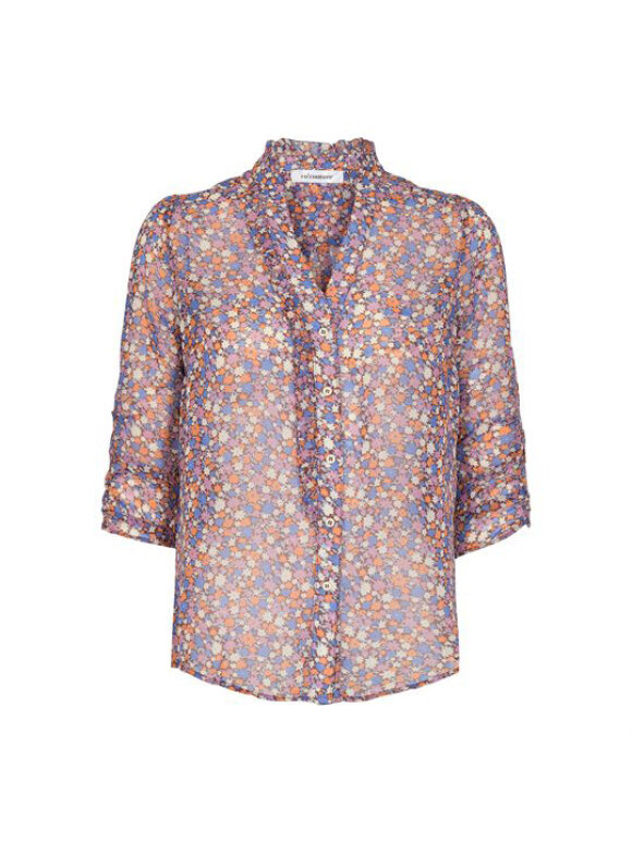 Co`Couture - AMORE FLOWER FRILL SHIRT