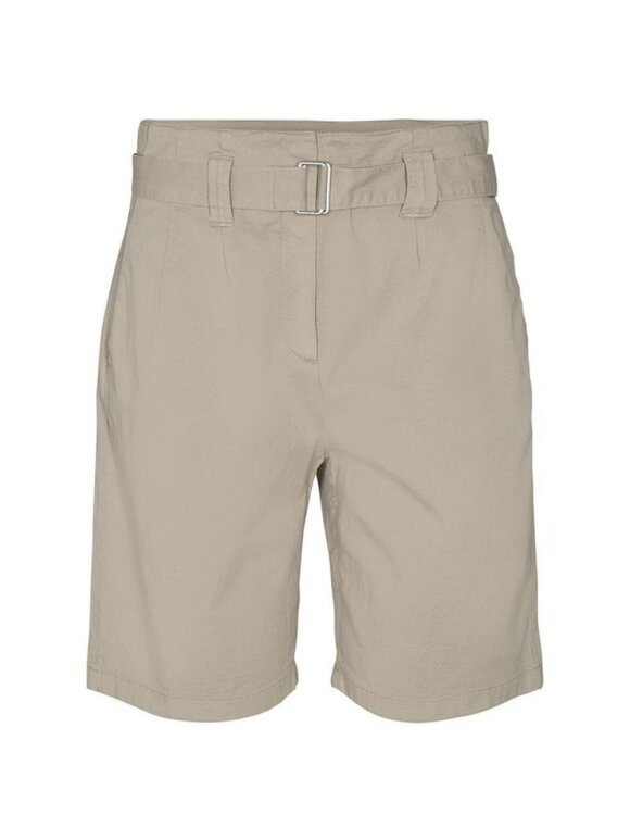 Leveté Room shorts i beige